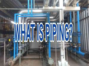 What is Piping? How piping is Different from Plumbing?