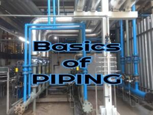 Quiz on Piping Basics