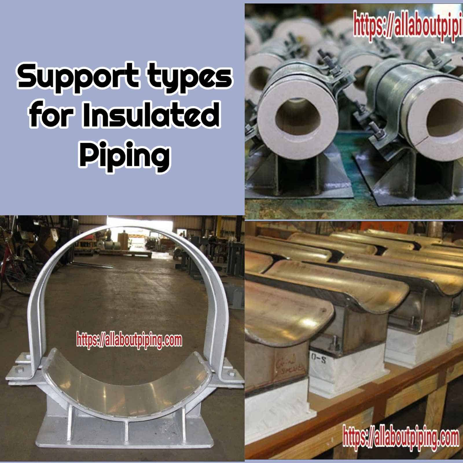 Types of Support for insulated lines