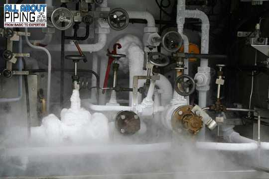 Cryogenic piping system