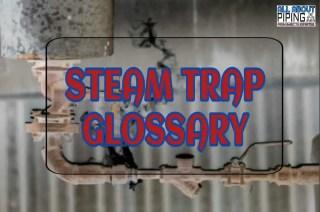 Steam trap glossary
