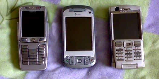 Communicator comparison - E70, TyTN, P990i