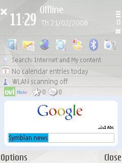 Google search client