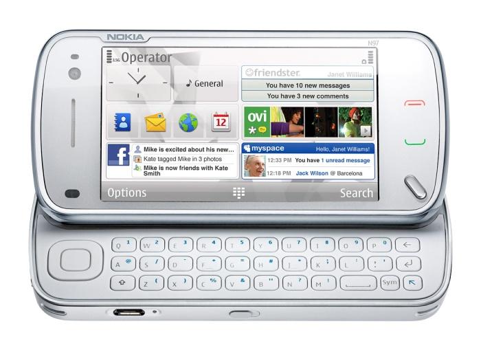 N97 with keyboard
