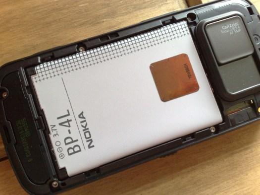 Retail Nokia N97 - the 1500mAh battery
