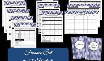How to Create a Finance Binder – Money Management & Budgeting – Household Binder Printables
