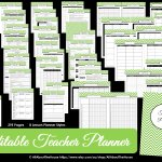Editable Chevron Printable Teacher Planner!