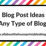 101 Blog Post Ideas (for any type of blogger)