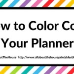 Planner Organization: How to color-code your planner so you'll actually use it effectively