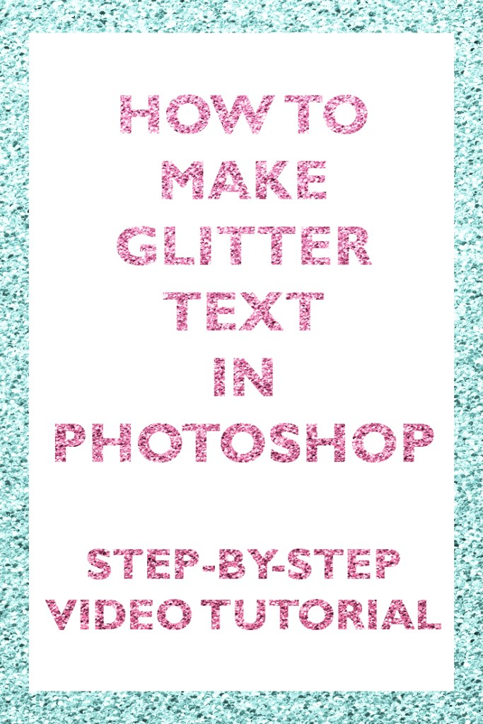 how-to-make-glitter-font-in-photoshop-for-beginners-effect-layer-style-clipping-mask-papercravings-ecourse-seamles-repeating-pattern-sparkly-sparkle-shimmer