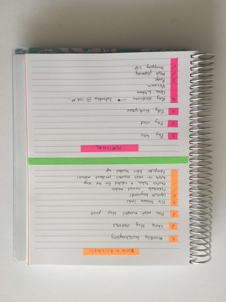how to color code your planner using washi tape color coded notes pages using washi tape school subject category how to use blank note paper