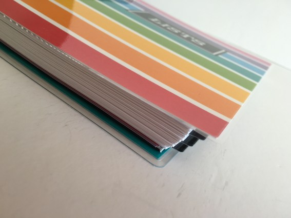 DIY erin condren cover overlap what size is the ec life planner cover planner hack tutorial cheap rainbow free printable