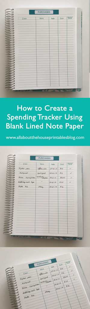 how to budget using an erin condren planner plum paper how to use blank notebooks what to do with empty planner tutorial diy planner hack-min (1)