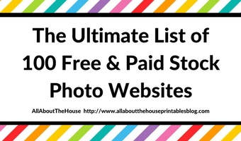 Ultimate list of 100 Free and Paid Stock Photo Websites for Bloggers, Etsy sellers and Entrepreneurs