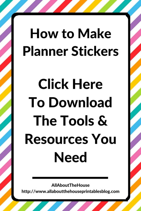 how to make planner stickers tools resources tutorial silhouette erin condren plum paper free printable happy planner mambi