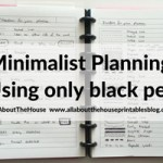Minimalist planning: simple decorating & divider ideas for your planner using pens