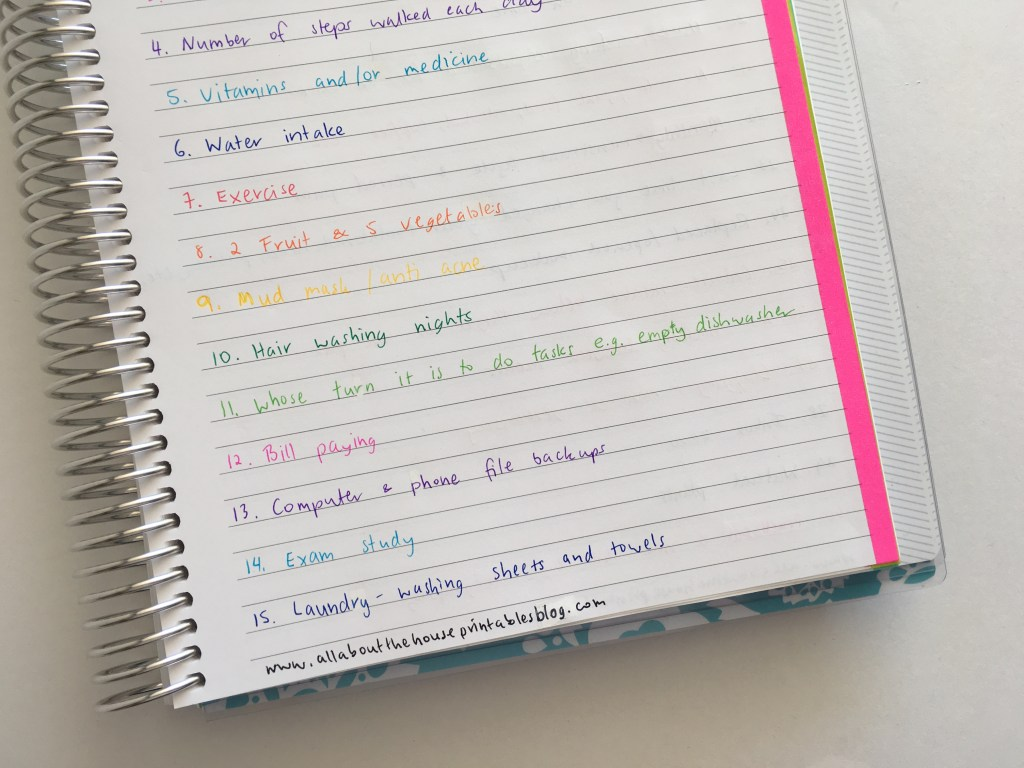 how to use a habit tracker to regain control of your life organization system bullet journal weekly planner spread inspiration ideas list