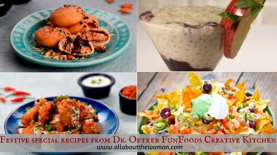 Festive special recipes from Dr. Oetker FunFoods Creative Kitchen