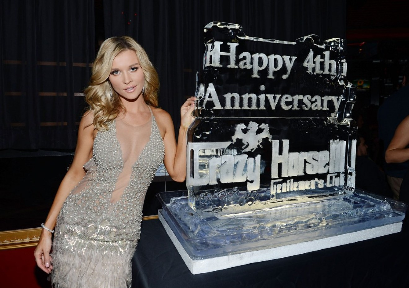 Joanna Krupa Celebrates Crazy Horse III's Fourth Anniversary Party Benefiting Angels For Animal Rescue
