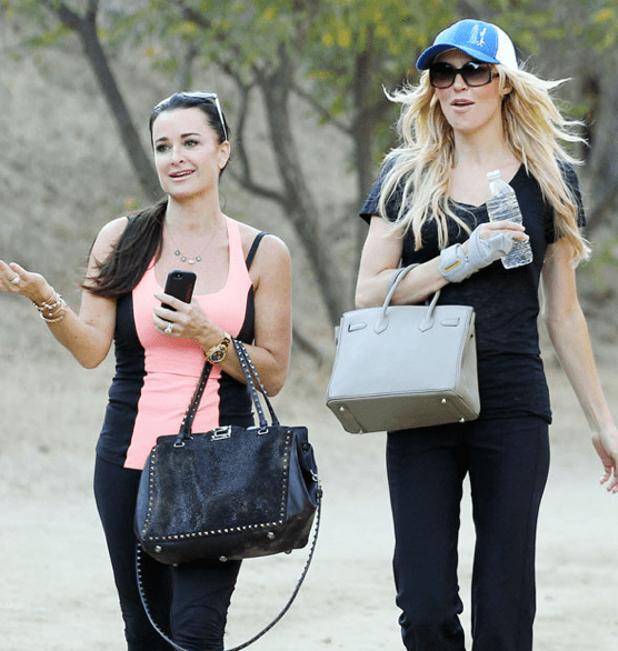 82be4f810bf Brandi Glanville Called Out For Wearing A Fake Birkin Bag  She ...