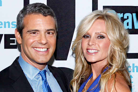 tamra and andy cohen