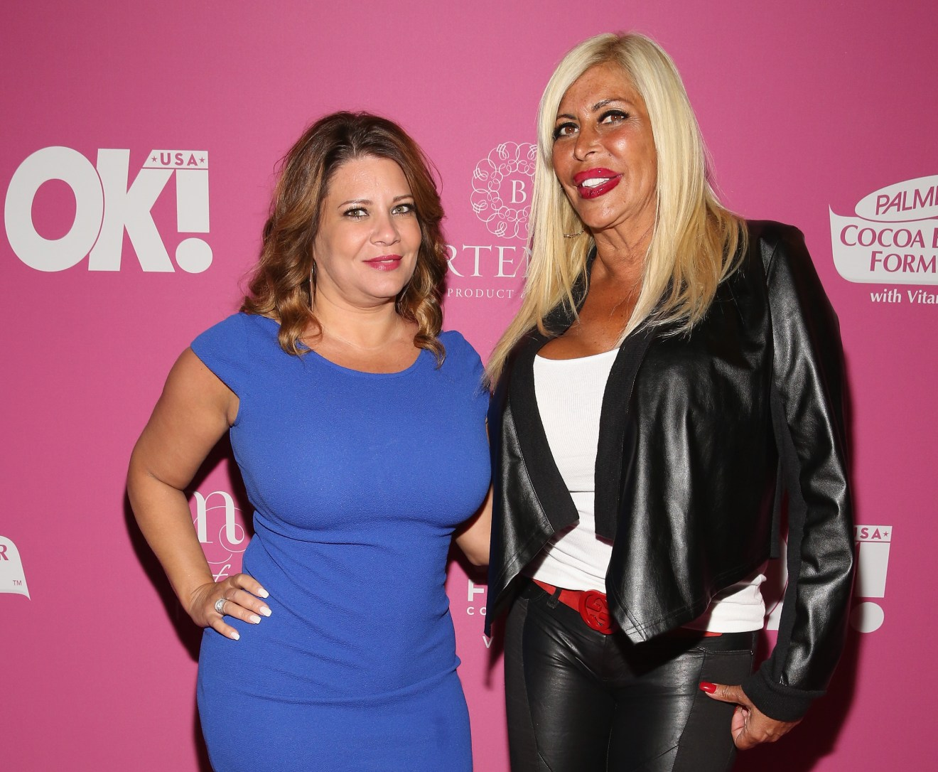 NEW YORK, NY - MAY 13: TV Personalities Karen Gravano and Angela 'Big Ang' Raiola attend OK! Magazine's So Sexy NYC Event at HAUS Nightclub on May 13, 2015 in New York City. (Photo by Robin Marchant/Getty Images)