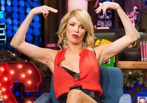 WATCH WHAT HAPPENS LIVE -- Episode 11198 - Pictured: Brandi Glanville -- (Photo by: Charles Sykes/Bravo)