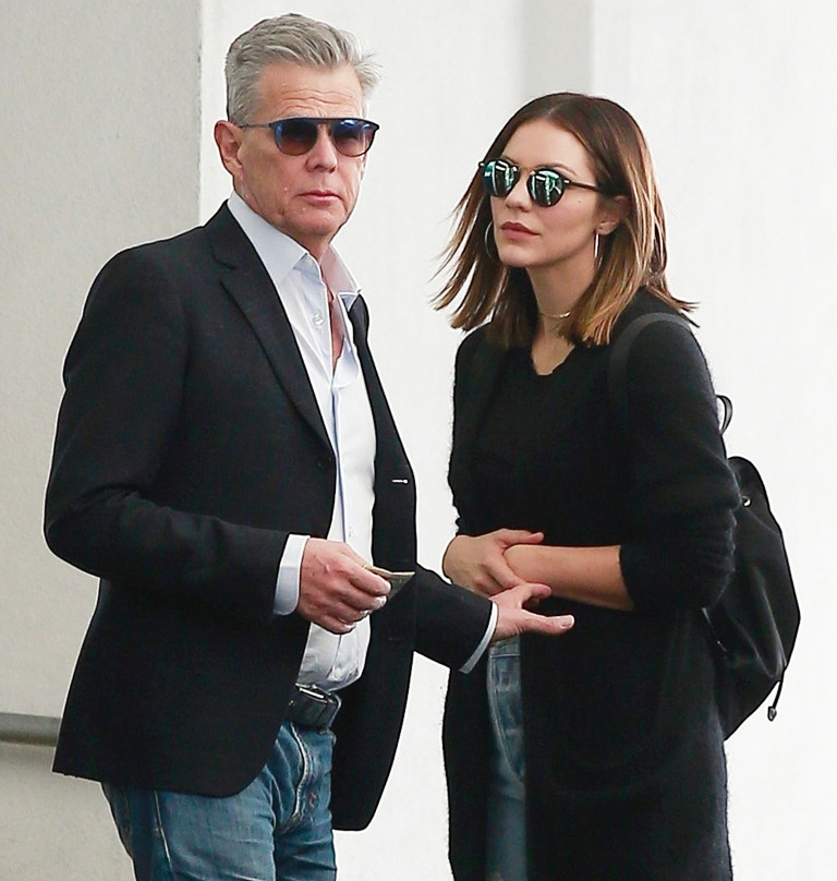 David Foster Katharine Mcphee Spotted Kissing In Public Reportedly Happier Than Ever The Real Housewives News Dirt Gossip