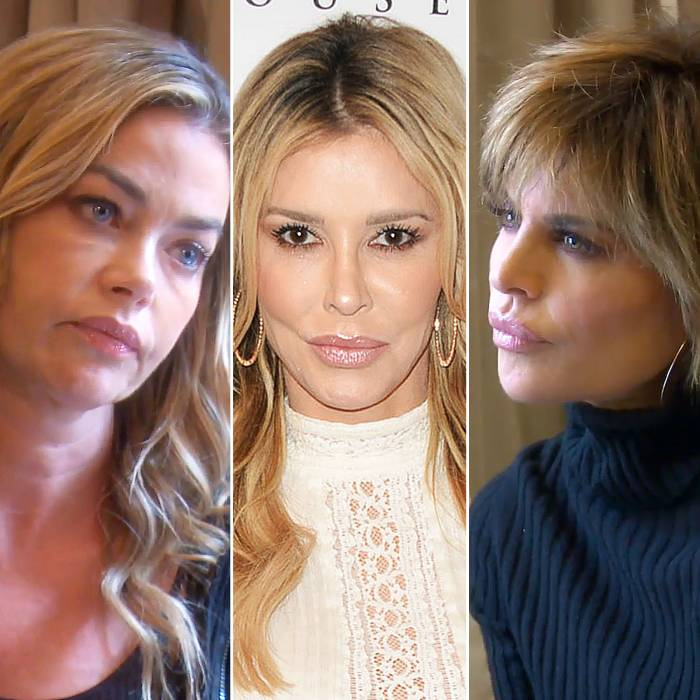 Lisa Rinna Accuses Denise Richards of 'Deflecting' With Brandi Glanville Sex Claims