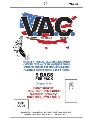 simplicity vacuum bags