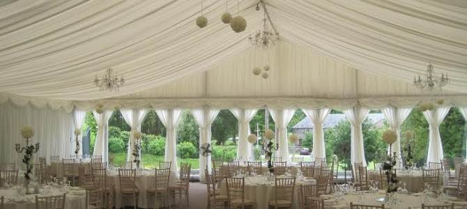 Wedding Decor at Clonabreany House,Kells, Co. Meath by All About Weddings