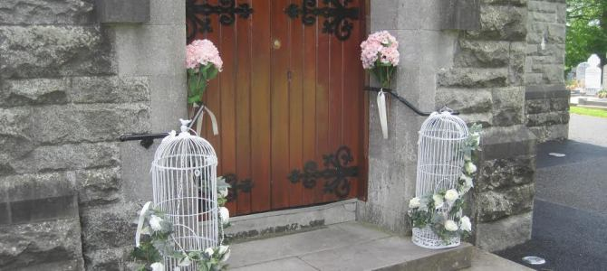 Vintage Decor at Rathfeigh Church, Co. Meath