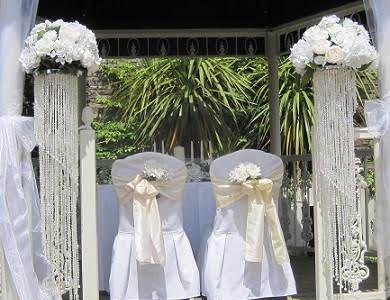 Ceremony & Reception Decor at Amber Springs Hotel, Gorey, Co. Wexford