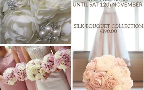Silk Bouquet Offer until Saturday 12th November,2016