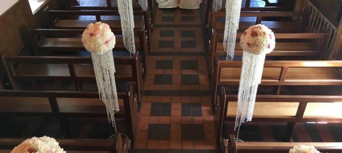 Ceremony Decor at Cratloe Church Limerick