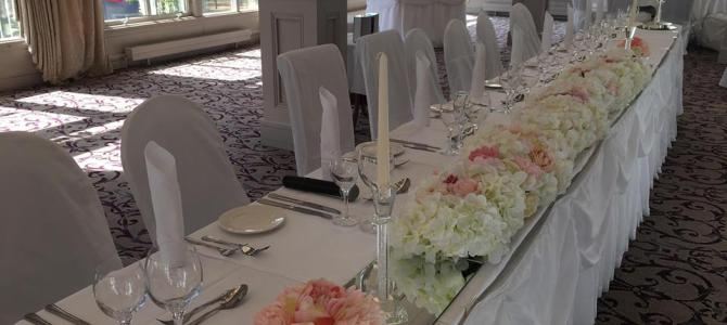Venue Styling at Faithlegg House by All About Weddings