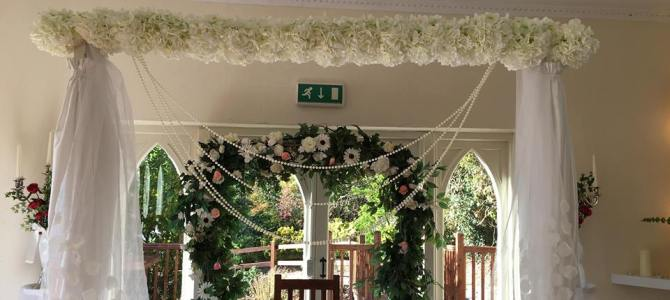 Ceremony Decor at Barnabrow House, Cork