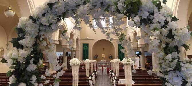 Ceremony Decor at Shankill Church