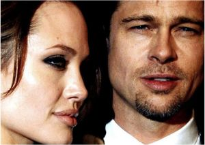 Brad Pitt and Angelina Jolie/facebook