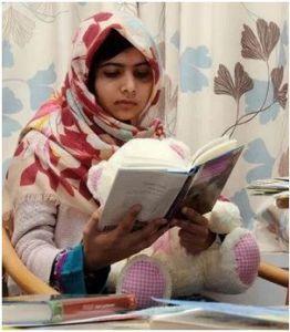 Malala Yousafzai/facebook