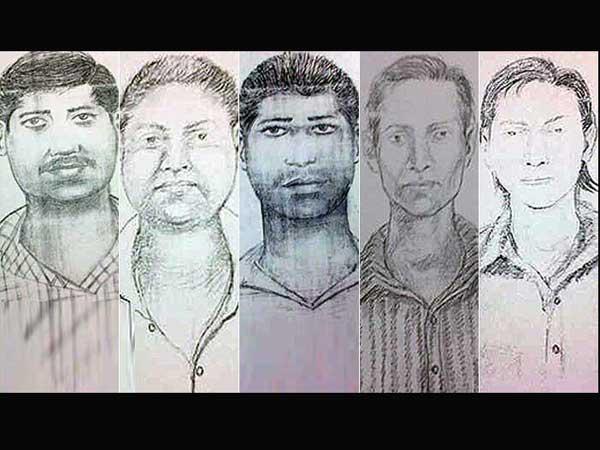 Mumbai Gang Rape suspects