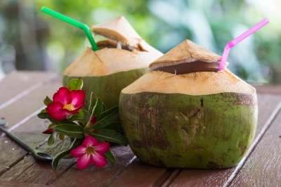 Coconut water/freedigitalphotos