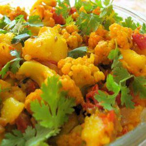 Aloo Gobhi by Moza Restaurant