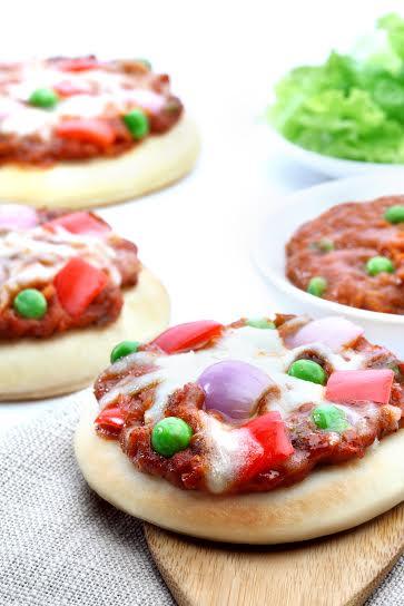 Pao Bhaji Pizza