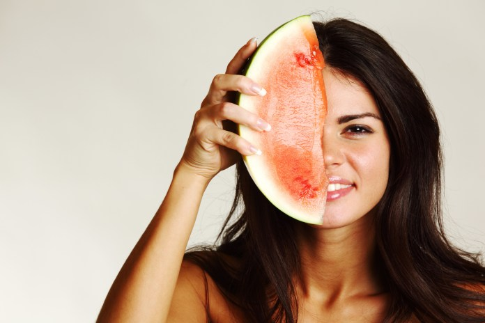 Get the youthful look with water melons