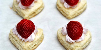 Strawberry French Hearts