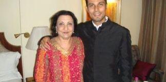 Randeep Hooda mom