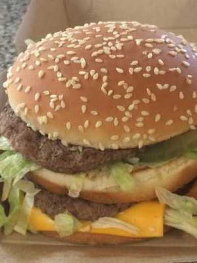 Big Mac for lunch