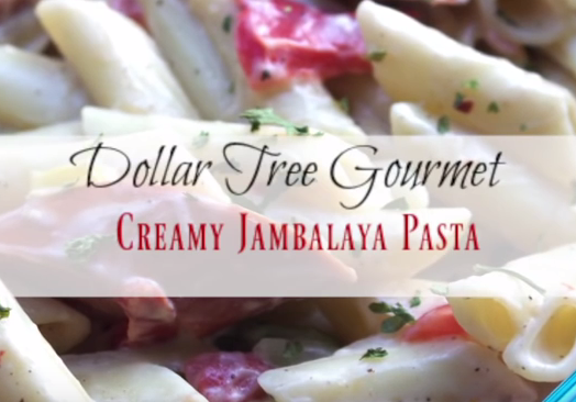 Dollar Tree Gourmet Creamy Jambalaya Pasta Cheap Meals I Heart Recipes