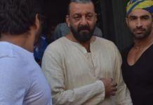 SPOTTED: Sanjay Dutt shooting in Bamrauli Katara Village | SpotboyE